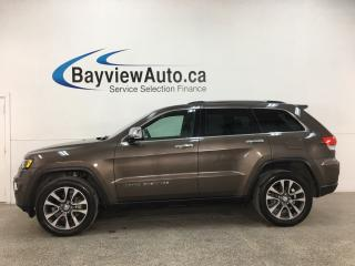 Used 2018 Jeep Grand Cherokee Limited - 4X4! NAV! HTD LTHR! PANOROOF! ALLOYS! + MORE! for sale in Belleville, ON