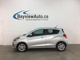 Used 2019 Chevrolet Spark 1LT CVT - AUTO! ONSTAR! ANDROID AUTO! APPLE CARPLAY! ALLOYS! + MORE! for sale in Belleville, ON