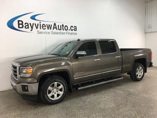 Used 2014 GMC Sierra 1500 SLT - 4X4! V8! HTD LTHR! HITCH! ONSTAR! ALLOYS! + MORE! for sale in Belleville, ON