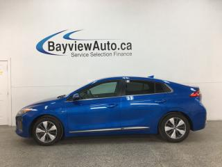 Used 2018 Hyundai IONIQ Plug-In Hybrid SE - PLUG IN ELECTRIC/HYBRID! 45KM ELECTRIC RANGE! for sale in Belleville, ON