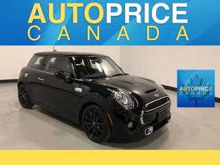 Used 2016 MINI 3 Door Cooper S NAVIGATION|PANOROOF|LEATHER for sale in Mississauga, ON