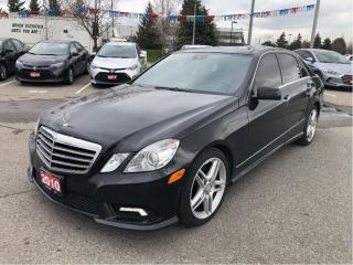 Used 2010 Mercedes-Benz E-Class for sale in Brampton, ON