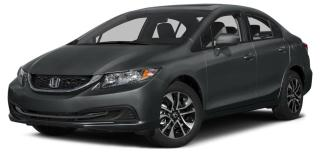 Used 2015 Honda Civic EX POWER SUNROOF | PUSH BUTTON START | REARVIEW CAMERA WITH GUIDELINES for sale in Cambridge, ON
