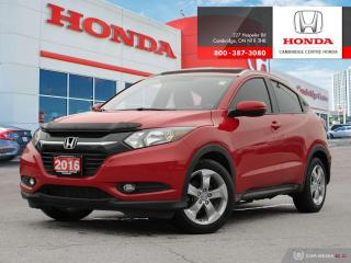 Used 2016 Honda HR-V EX-L POWER SUNROOF   LEATHER INTERIOR   REARVIEW CAMERA WITH GUIDELINES for sale in Cambridge, ON