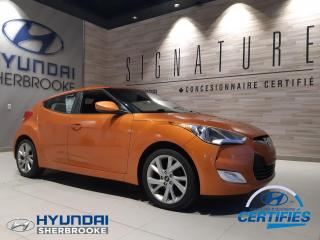 Used 2016 Hyundai Veloster CAMERA+BANCS CHAUFF+BLUETOOTH for sale in Sherbrooke, QC