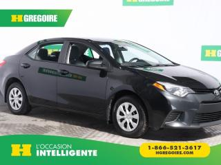 Used 2015 Toyota Corolla Ce A/c Bluetooth for sale in St-Léonard, QC