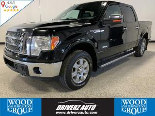 Used 2011 Ford F-150 Lariat CLEAN CARFAX, ONE OWNER, 3.5L ECOBOOST for sale in Calgary, AB