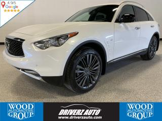 Used 2017 Infiniti QX70 LIMITED AND TECHNOLOGY PACKAGE, CLEAN CARFAX for sale in Calgary, AB