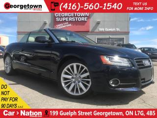 Used 2011 Audi A5 2.0T Premium Plus | NAVI | TOP DOWN | BU CAM | AWD for sale in Georgetown, ON