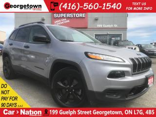 Used 2018 Jeep Cherokee Altitude | BLACK RIMS | BLUETOOTH | ONLY 10,4736KM for sale in Georgetown, ON