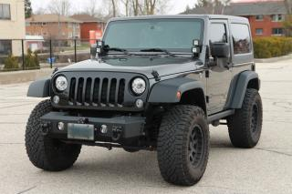 Used 2017 Jeep Wrangler Sport $10K in upgrades | 4x4 | AC | NO ACCIDENTS | CERTIFIED for sale in Waterloo, ON