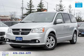 Used 2011 Dodge Grand Caravan 1 OWNER CREW NAVI LEATHER CERTIFIED SERVICE RECORD for sale in Bolton, ON