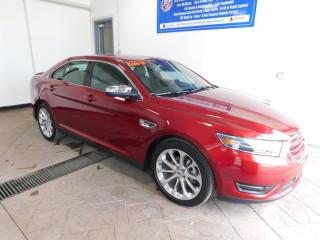 Used 2018 Ford Taurus Limited LEATHER NAVI SUNROOF for sale in Listowel, ON