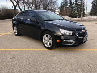 Used 2015 Chevrolet Cruze DIESEL/Fully Loaded/Command Start/Leather! for sale in Winnipeg, MB