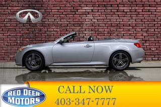 Used 2009 Infiniti G37 S Convertible Leather BCam for sale in Red Deer, AB