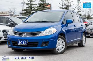 Used 2012 Nissan Versa No Accidents Service Records Certified Serviced for sale in Bolton, ON