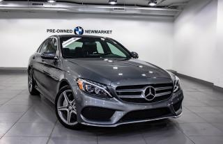 Used 2017 Mercedes-Benz C 300 4MATIC Sedan for sale in Newmarket, ON