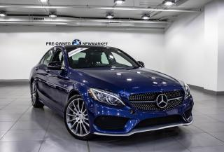 Used 2017 Mercedes-Benz C43 AMG 4MATIC Sedan for sale in Newmarket, ON