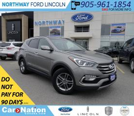 Used 2018 Hyundai Santa Fe Sport SE | AWD | PWR HTD LEATHER | PANO ROOF | for sale in Brantford, ON