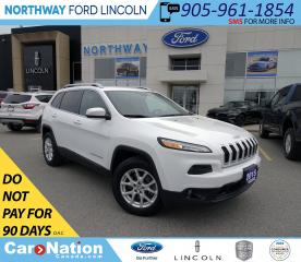 Used 2015 Jeep Cherokee North | 4x4 | PUSH START | KEYLESS | BACKUP CAM | for sale in Brantford, ON