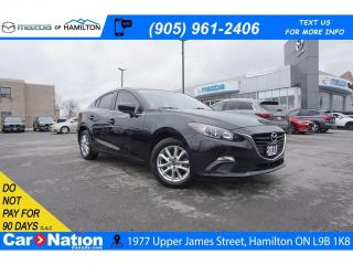 Used 2015 Mazda MAZDA3 GS | REAR CAM | HEATED SEATS | BLUETOOTH for sale in Hamilton, ON