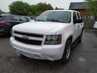 Used 2012 Chevrolet Tahoe Fleet 4WD for sale in Oshawa, ON
