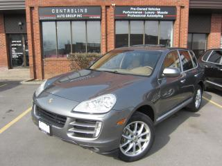 Used 2008 Porsche Cayenne S/ $13,995+HST+LIC FEE / CLEAN CARFAX REPORT /CERTIFIED for sale in North York, ON