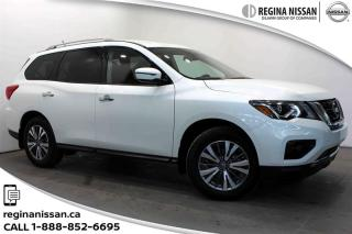Used 2018 Nissan Pathfinder SV Tech V6 4x4 at Nissan CPO Rates as low as 2.39% o.a.c for sale in Regina, SK