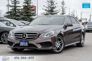 Used 2014 Mercedes-Benz E-Class E350 4-Matic AWD AMG Navi Gps Certified Serviced for sale in Bolton, ON
