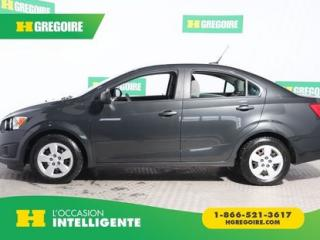 Used 2014 Chevrolet Sonic LS A/C BLUETOOTH for sale in St-Léonard, QC