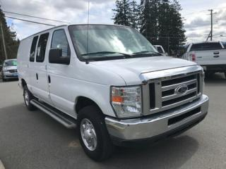 Used 2014 Ford Econoline Vinyl Flooring, Security Wall, RWD for sale in Duncan, BC