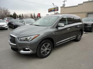 Used 2019 Infiniti QX60 AWD Cuir Navi ToitOuv 7Pass a vendre for sale in Laval, QC