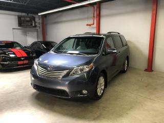 Used 2014 Toyota Sienna LIMITED AWD 7 places NAVI,DVD,CAMÉRA,CUI for sale in Montréal, QC
