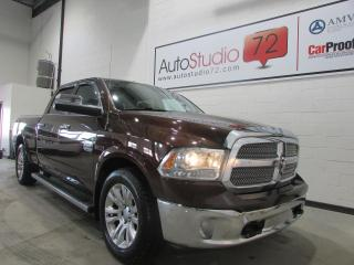 Used 2014 RAM 1500 Longhorn ecodiesel **4X4**CREW**NAVI**CU for sale in Mirabel, QC
