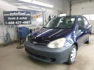 Used 2005 Toyota Echo for sale in St-Raymond, QC