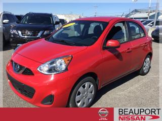 Used 2017 Nissan Micra 1.6 SV ***BALANCE GARANTIE*** for sale in Beauport, QC