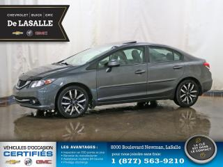 Used 2013 Honda Civic Touring for sale in Lasalle, QC