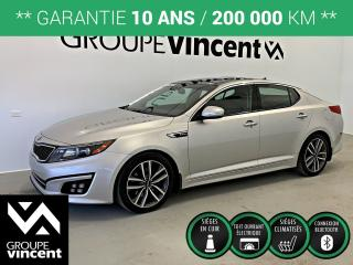 Used 2014 Kia Optima Sx Turbo Gps-Cuir for sale in Shawinigan, QC