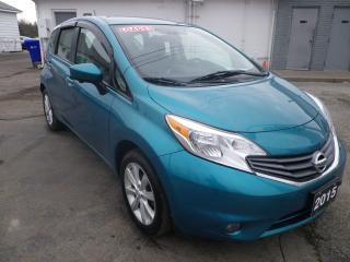 Used 2015 Nissan Versa Note SL navig, h/seat, b-up cam for sale in Fort Erie, ON