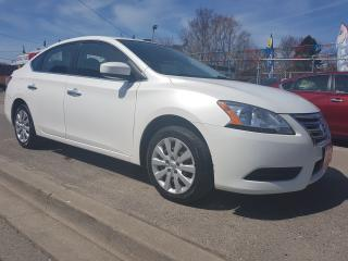 Used 2015 Nissan Sentra S- Mint Condition- Extra Clean-Bluetooth-Eco Dr for sale in Scarborough, ON