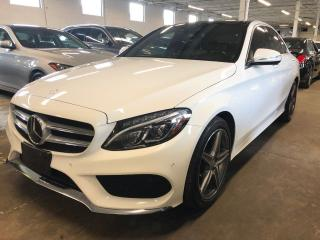 Used 2015 Mercedes-Benz C-Class C 400, HUD, DRIVE ASSIST NAVI for sale in Mississauga, ON