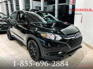 Used 2018 Honda HR-V EX + BLACK EDITION + AWD + DÉMO + WOW !! for sale in St-Basile-le-Grand, QC