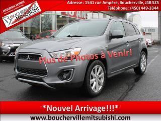 Used 2014 Mitsubishi RVR Se Ltd A/c, 4x4 for sale in Boucherville, QC