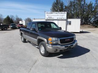 Used 2003 GMC Sierra 1500 SLE E CAB 4X4  Z71 for sale in Elmvale, ON