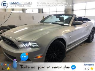 Used 2013 Ford Mustang 2DR CONV V6 PREMIUM for sale in St-Hyacinthe, QC