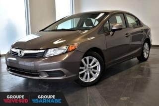 Used 2012 Honda Civic Ex T.ouvrant for sale in Brossard, QC