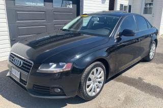 Used 2012 Audi A4 for sale in Kingston, ON