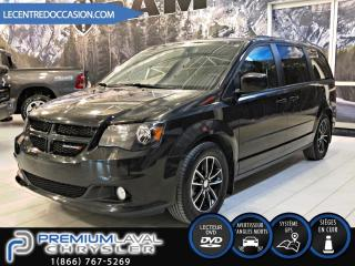 Used 2017 Dodge Grand Caravan GT*BLACK TOP/CUIR/DVD/NAV* for sale in Laval, QC