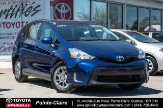 Used 2015 Toyota Prius V Hybride Grp for sale in Pointe-Claire, QC