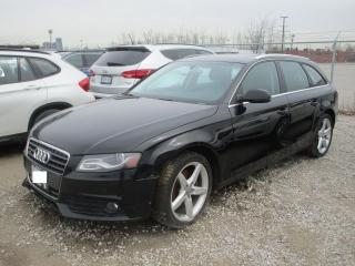 Used 2010 Audi A4 Premium for sale in Toronto, ON